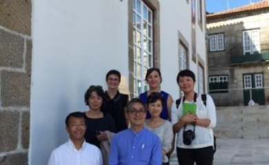 CENTER OF INTERPRETATION AND PROMOTION OF VINHO VERDE IN PONTE DE LIMA RECEIVED GROUP OF JAPANESE JOURNALISTS