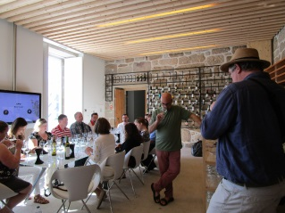 SOMMELIERS GROUP OF THE USA, CANADA AND GERMANY VISITED THE CENTER OF INTERPRETATION AND PROMOTION OF VINHO VERDE IN PONTE DE LIMA